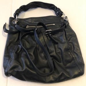 Coach Parker Leather Hobo/Messenger Bag